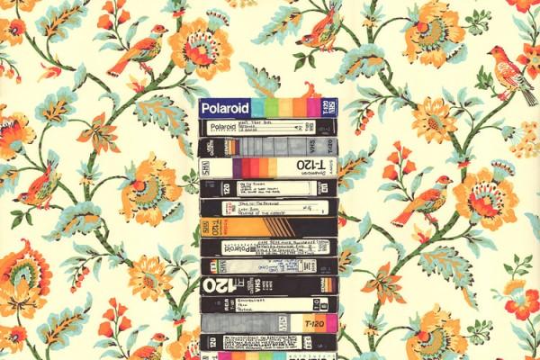 VHS (Entry Hall Wallpaper)
