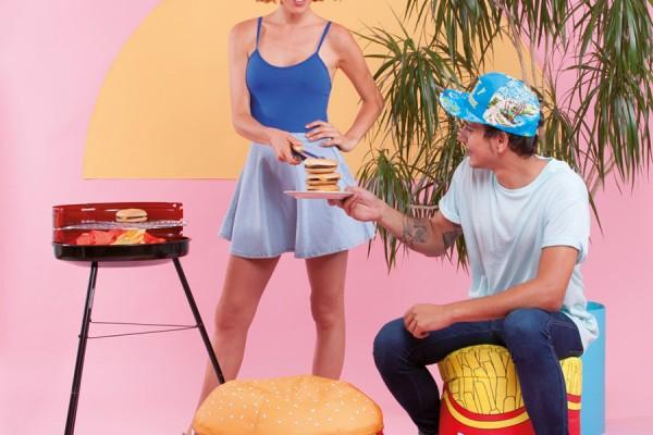 Burger & Beer - Beanbag Furniture by Woouf!