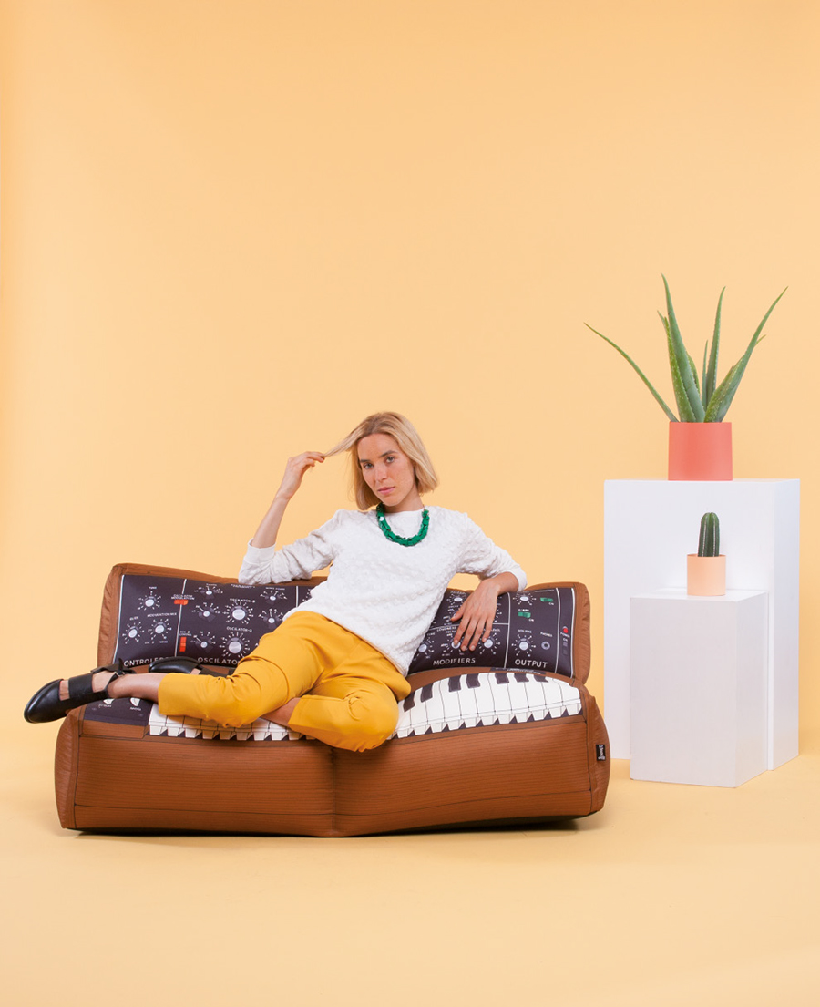 Sofa Moog - Music Synthesizer - Beanbag Furniture by Woouf!