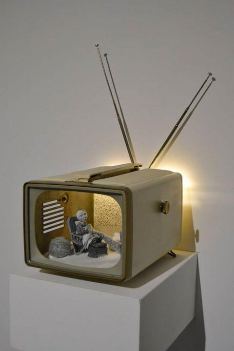 Berthe Aline  - HYPERland - Sculpture Installation by Karine Giboulo