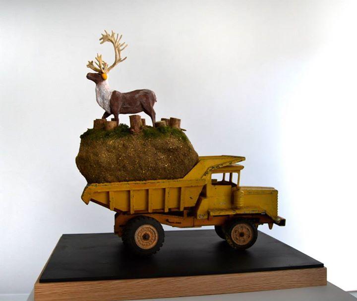 Northern Plan - HYPERland - Sculpture Installation by Karine Giboulo