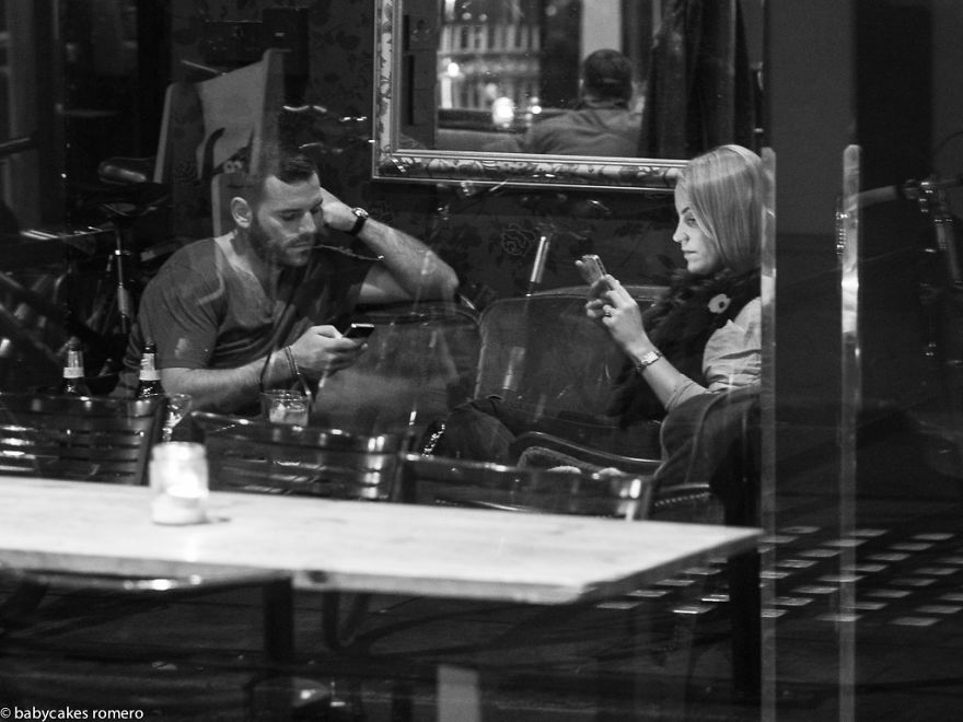 The Death of Conversation - Street Photography by Babycakes Romero