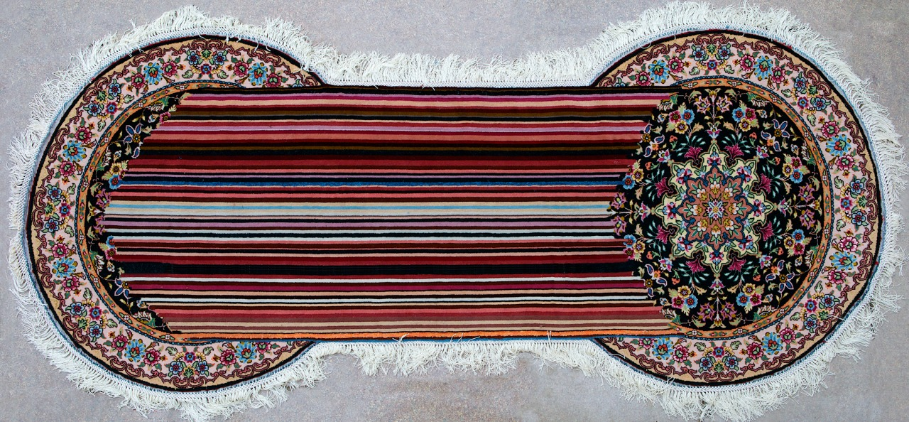 Double Tension - Handmade Woolen Carpet by Faig Ahmed