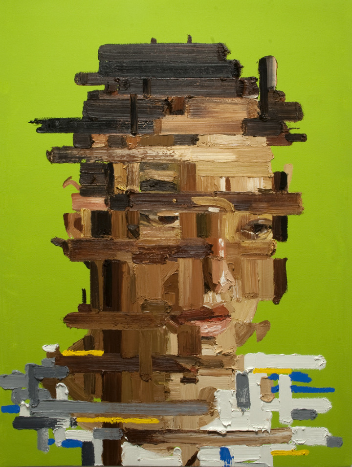 Gareth - Architecture of the Face - Oil Painting by Erik Olson