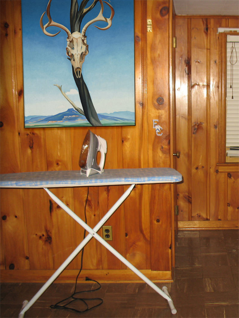 Georgia O'Keeffe, Next to an Ironing Board - Great Art in Ugly Rooms - GAiUR