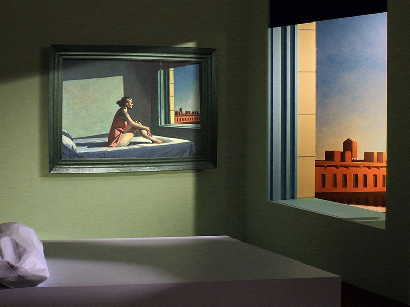 Edward Hopper, in itself - Great Art in Ugly Rooms - GAiUR