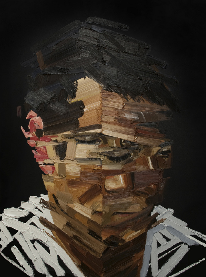 Jeff - Architecture of the Face - Oil Painting by Erik Olson