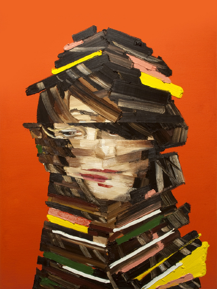 Jessica - Architecture of the Face - Oil Painting by Erik Olson