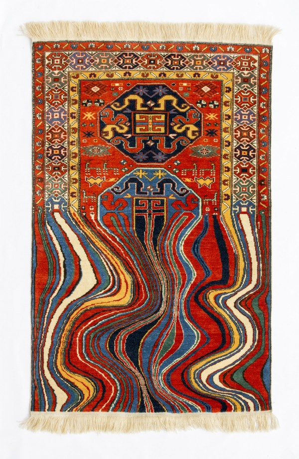 Oiling - Handmade Woolen Carpet by Faig Ahmed