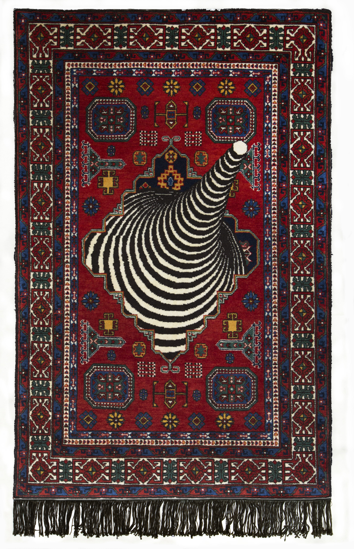 Rapture - Handmade Woolen Carpet by Faig Ahmed
