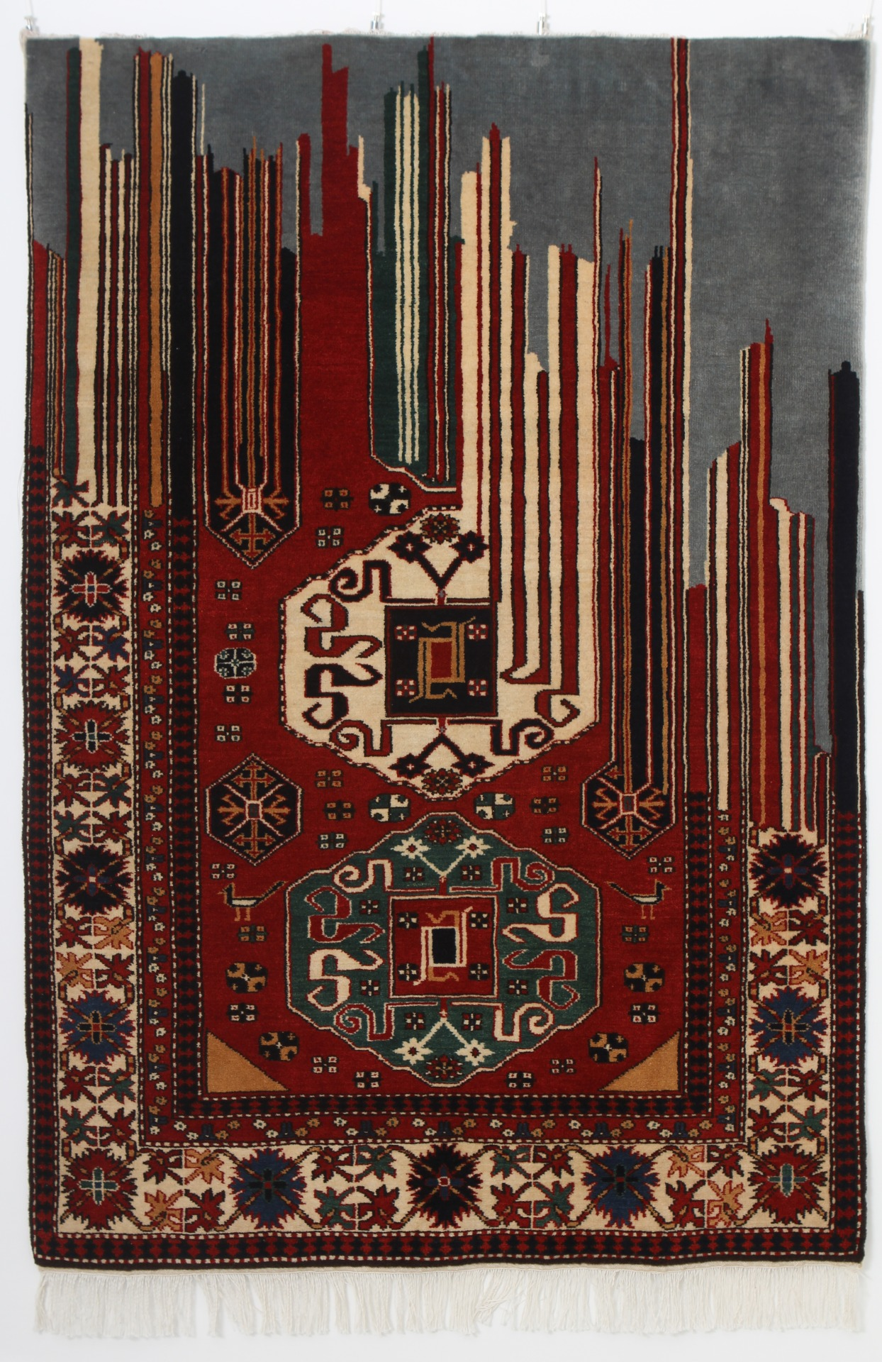 Restrain - Handmade Woolen Carpet by Faig Ahmed