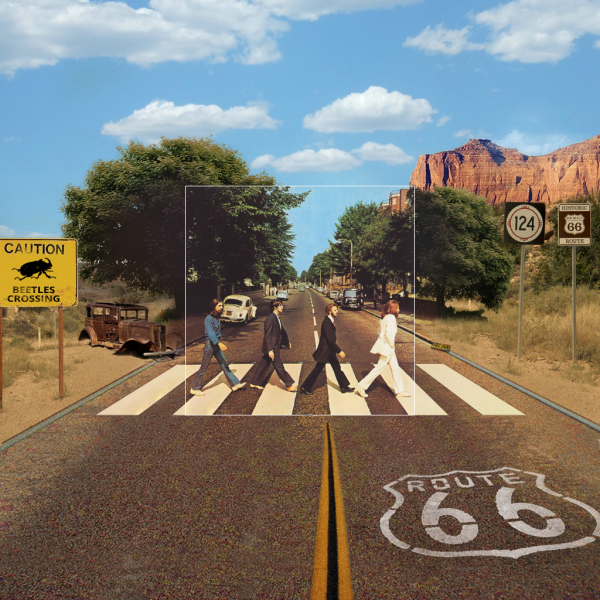 The Beatles - Abbey Road - Album Covers - The Bigger Picture - Art by Aptitude