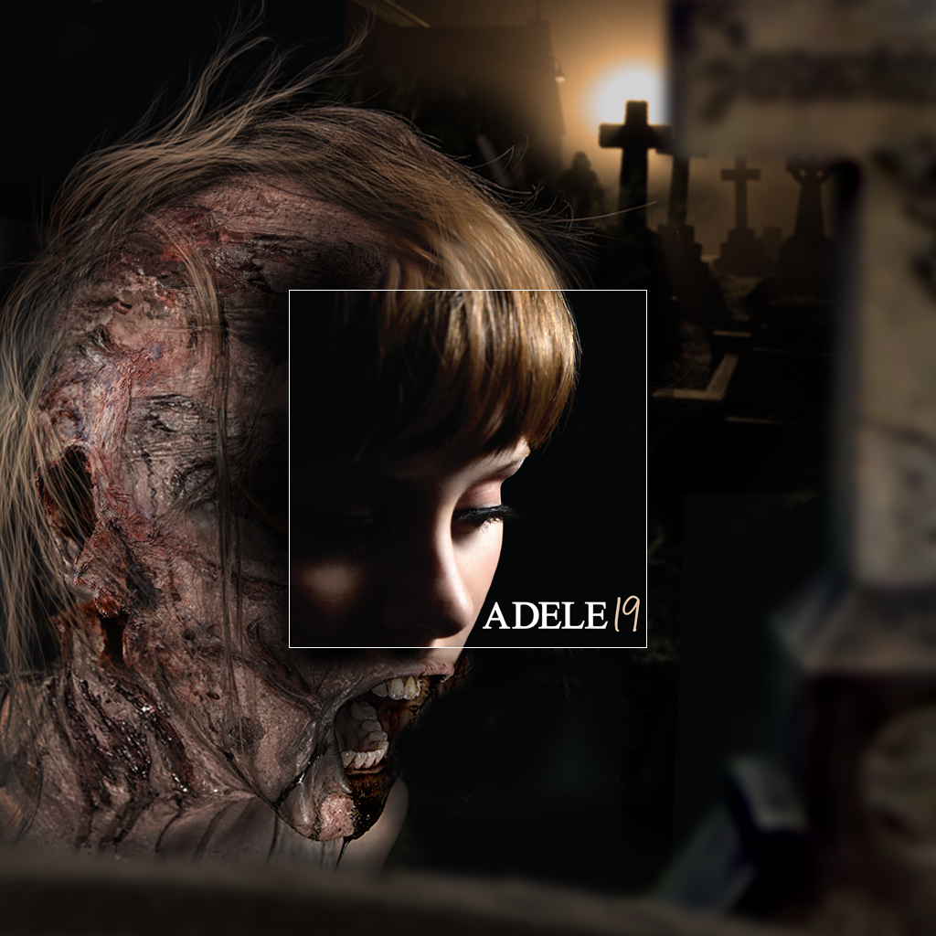 Adele - 19 - Album Covers - The Bigger Picture - Art by Aptitude