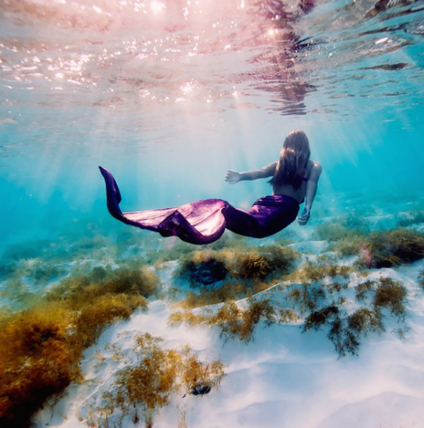 Mermaid - Underwater Photography by Elena Kalis