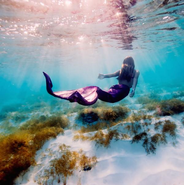 Mermaid - Underwater Photography by Elena Kalis