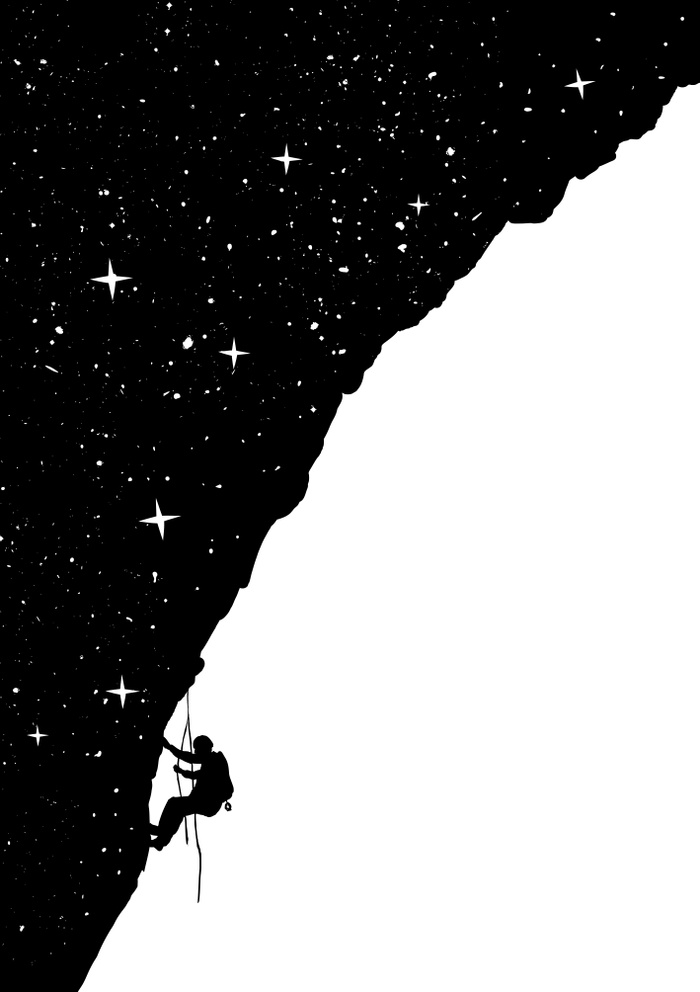 Night climbing by Balazs Solti