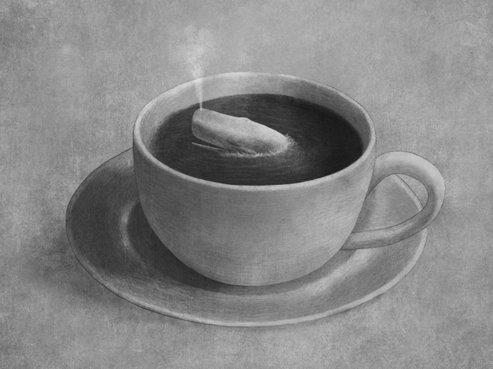 Whale in a Teacup by Terry Fan