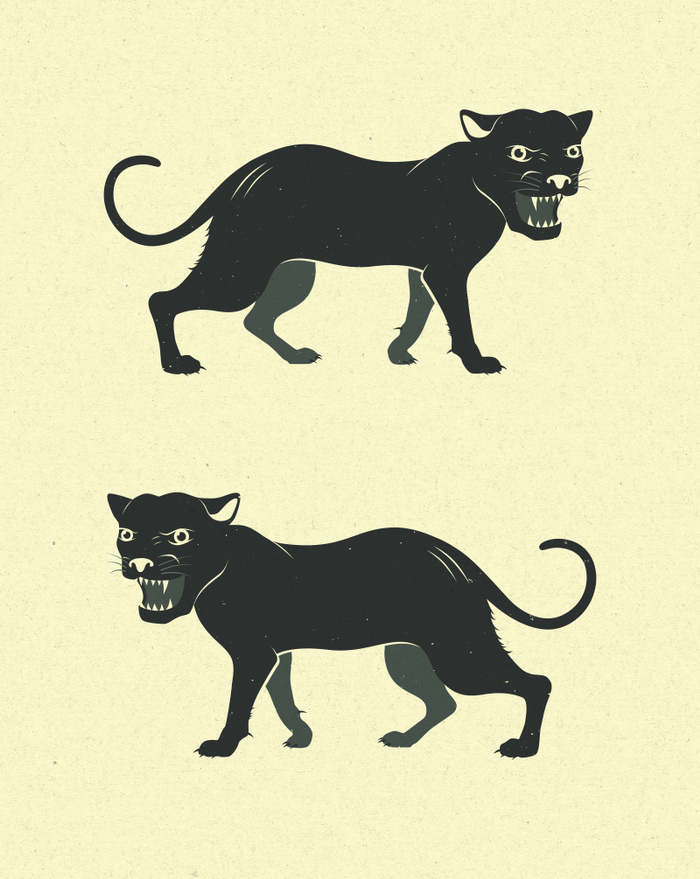 PANTHERS by Jazzberry Blue