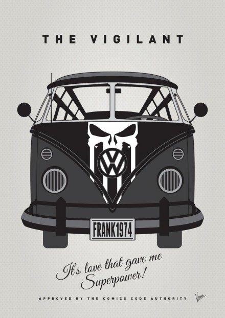 MY SUPERHERO-VW-T1-Punisher by Chungkong