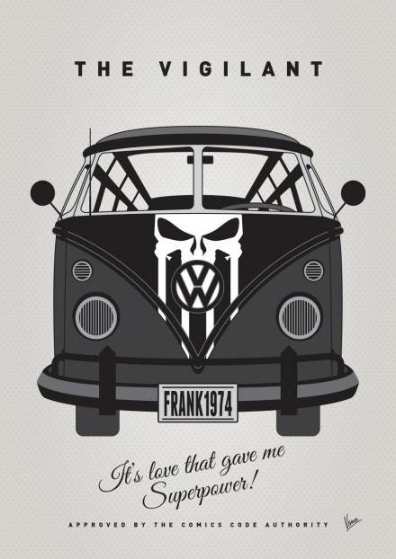 MY SUPERHERO-VW-T1-Punisher by Chungkong