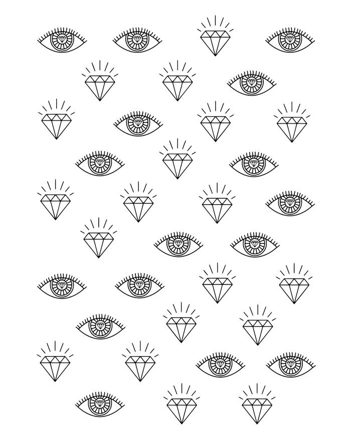 Diamond Eyes by 83 Oranges